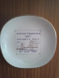 1981 AF pin dish